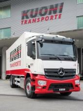 Spezialanfertigung für die Gebr. Kuoni Transport AG