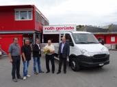 200. IVECO für Roth Gerüste AG