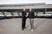 Neue Material- und Personentransporter von Mercedes-Benz für die Schweizerischen Bundesbahnen SBB, Bern