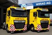 Welti-Furrer Pneukran & Spezialtransporte AG mit neuen DAF XF Zugmaschinen