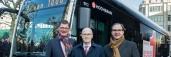 Frischer Wind in Hamburg: Mercedes-Benz liefert den ersten vollelektrischen Stadtbus eCitaro an Hamburger Hochbahn AG