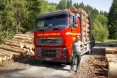 Solèr Holz AG fährt Volvo FH 16-600