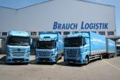 Kraft pur für die Brauch Transport AG dank Mercedes-Benz Actros 1843 L 4x2 und 2543 L 6x2 sowie Antos 1835 L 4x2
