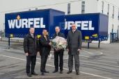 Die Würfel Holding GmbH setzt auf Krone Wechselbrücken