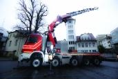 Neues Spezialfahrzeug für die Berufsfeuerwehr Basel: Actros 4455 10x6/8