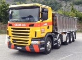 Für schweres Gestein – ein Scania G480 5-Achser