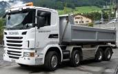 Neuer Euro-6-Kipper für Guyan AG Schiers