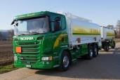 Neuer Scania für die Schärer Beinwil Transport GmbH in Merenschwand