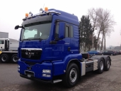 Neuer MAN 3-Achser für Waldis GmbH
