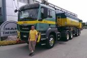 Erstes MAN Euro-6-Baufahrzeug für Eberhard Bau AG