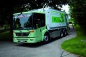 A. Hürlimann AG punktet bei den Gemeinden mit dem Kehrichtsammelfahrzeug Econic NGT