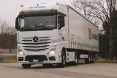Schenker Schweiz AG mit vier neuen Actros