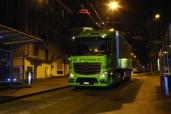 Leise wie die Nacht: der neue Actros Euro 6 von Bio Partner