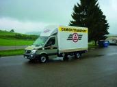 Camion Transport erprobt den ersten neuen Sprinter Euro 6