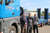 Chappell's bezieht Semitrailer MPA 5 von Goldhofer mit innovativer »MPA-Achstechnologie«