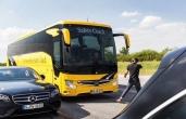 Der neue Bremsassistent Active Brake Assist 4: Serie in allen Reisebussen von Mercedes Benz und Setra, neuer Preventive Brake Assist für Stadtbusse