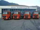 Vier neue Arocs verstärken die Flotte der Johann Müller AG