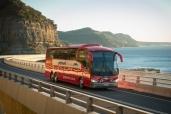 30 Volvo-Reisebusse für Greyhound Australia