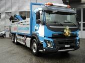 Gasser liefert Baumaterialien mit Volvo FMX 460 X-Track