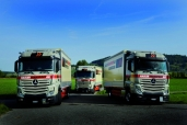 Hasler Transport AG: Treibstoff sparen mit dem neuem Actros