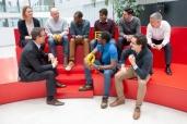 Gemeinsam mit Studenten und Wissenschaftlern die Zukunft der Mobilität gestalten: Continental eröffnet Trend Antenna in Frankfurt