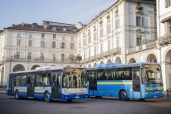 Iveco liefert 182 Busse an die Stadt Turin