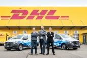 DHL Express (Schweiz) AG – setzt auf den Mercedes-Benz eVito