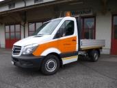 Die Gemeinde Schwyz setzt auf Mercedes-Benz Sprinter 313 CDI BlueTex 4x2