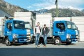 Vier gewinnt – die Luzi Gerüste AG setzt auf vier neue FUSO Canter 3C15 4x2