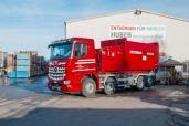 Huber Industrieabfälle GmbH – grosse Begeisterung dank Antos und Arocs