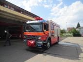 Brandneu in der Flotte der Feuerwehr Küssnacht: Ein Atego 1629 AF 4x4