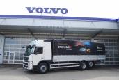 Neuer Volvo FM 6x2 Globetrotter für die Firma Prometall Handel AG