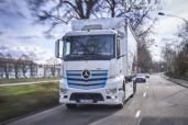 Rein batterieelektrisch angetriebener Lkw für den schweren Verteilerverkehr: Mercedes-Benz eActros startet im Murgtal: emissionsfreier und leiser Transport