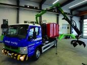 Canter 7C18 neu bei der Reinhard Recycling AG im Einsatz