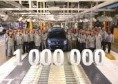 Eine Million Kangoo im Renault-Werk Maubeuge produziert
