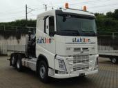 Ein wandelbarer Volvo FH 420 fährt für Stahlton AG / Bautechnik