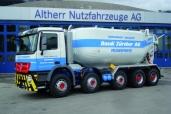 Actros 5-Achser für die Ruedi Zürcher AG in Goldach