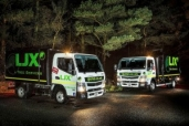 """Schottland: Fuso Canter """"operiert"""" Bäume bei LJX Tree Services"""