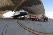 Der letzte Weg des Space Shuttles Enterprise