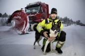 Snoplog – Schneeräumer der Extraklasse: Mercedes-Benz Arocs sorgt für freie Straßen in Schweden