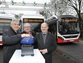 Volvo 7900 Electric Hybrid fährt ab sofort im Linienverkehr auf der Innovationslinie 109