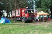 An der Rally Dakar erfolgreich dabei: schweizer Rally-Team mit Renault Kerax 460.32 6x6