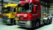 Toggenburger & Co AG und Musfeld Kran AG wählen den Actros für den schweren Einsatz