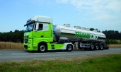Bis zu 14% weniger Treibstoffverbrauch: Translait SA mit neuen Actros und FleetBoard