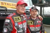 TEAM RENAULT TRUCKS-MKR Technology in der nächsten Meisterschaft wieder im Rennen