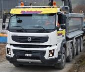 H. Jakober Transporte fährt Volvo FMX 500 10x4