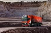 Volvo Trucks liefert autonomeTransportlösung an Brønnøy Kalk AS.