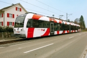 Fahrzeugtaufe der Frauenfeld-Wil-Bahn