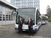 Erster Citaro Euro VI in der Schweiz an übergeben