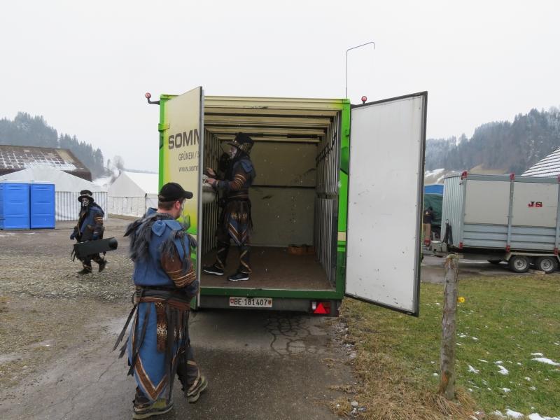 Sattelschlepper Sattelzug Auflieger Lastwagen LKW Laster Holzlaster L 42 cm Bauernhof